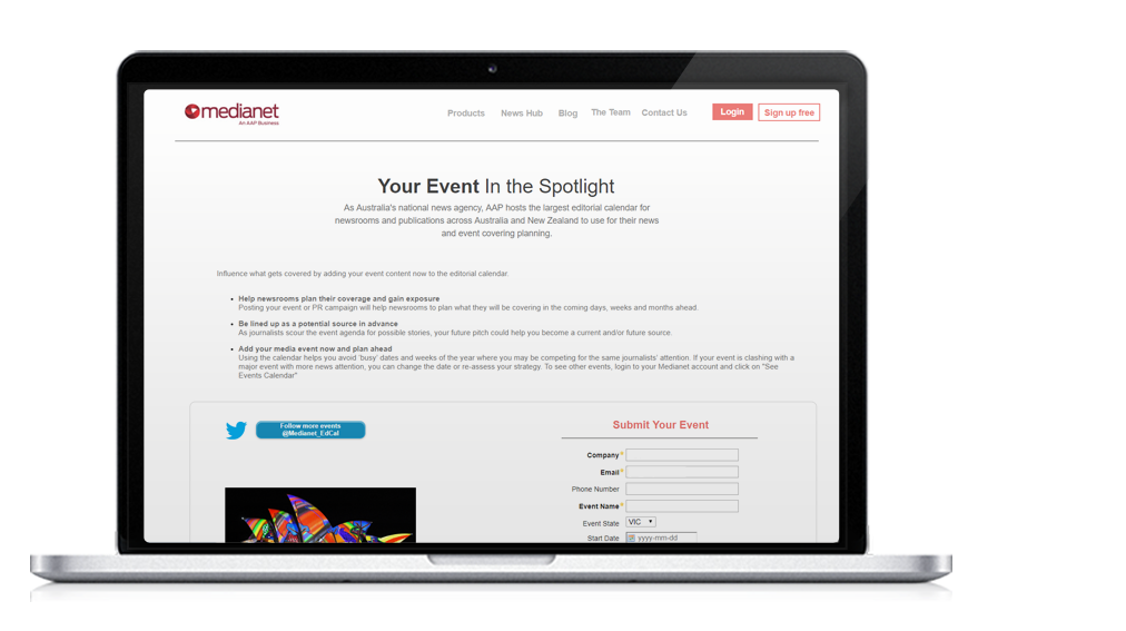 Media Planning - List Your Event 1