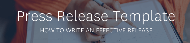 press release template download