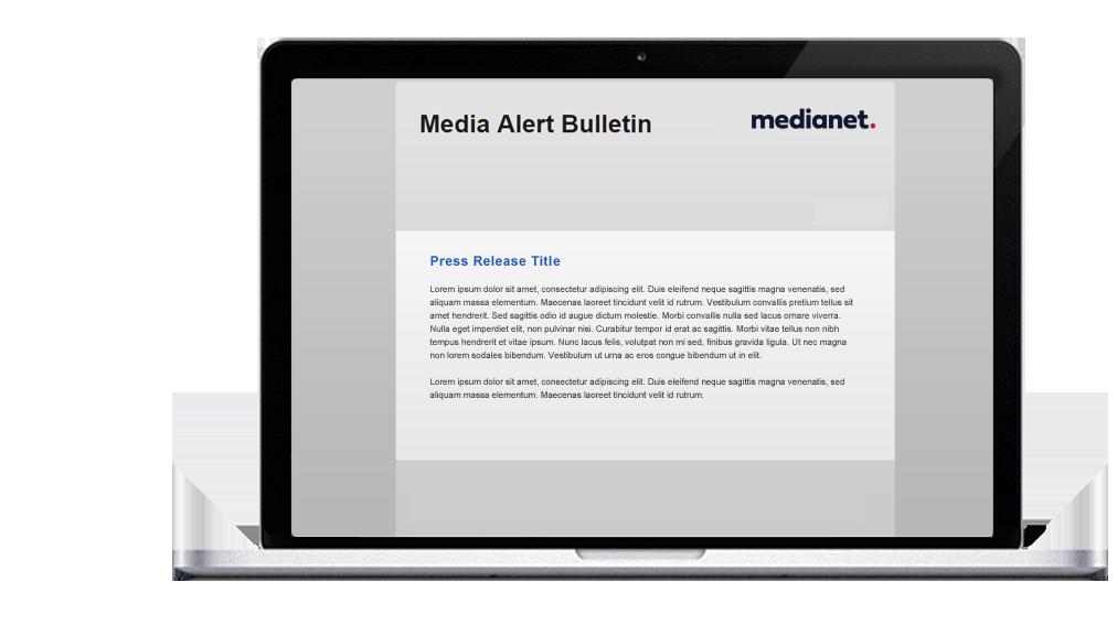 Media Alert Bulletin
