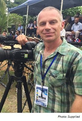 SBS News Correspondent - Stefan Armbruster